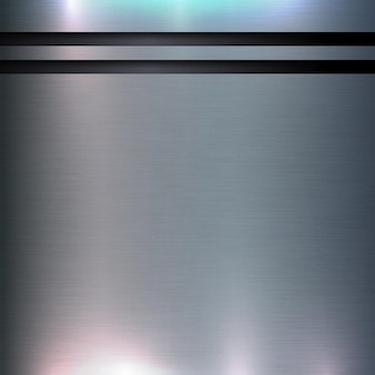 Fond de texture abstraite en aluminium technologie concept de conception de cylindre brossé et poli