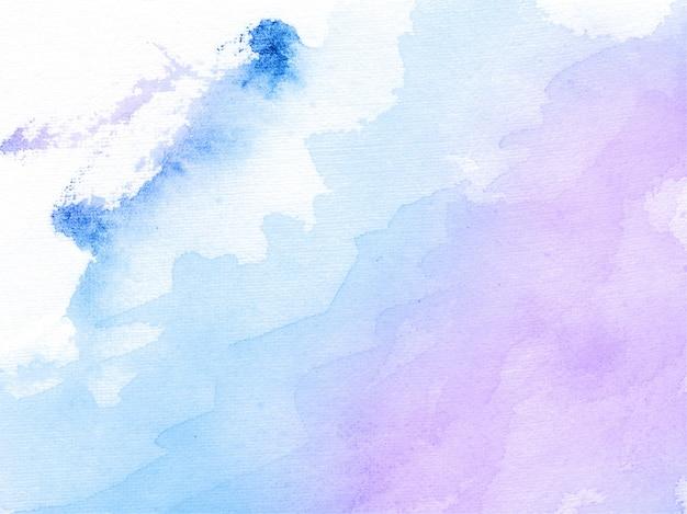 Fond de texture abstraite aquarelle bleu et violet