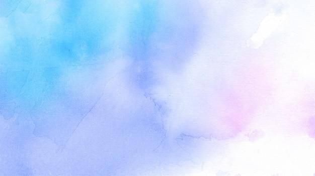 Fond de texture abstraite aquarelle bleue