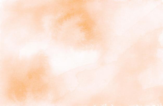 Fond de texture abstraite aquarelle orange