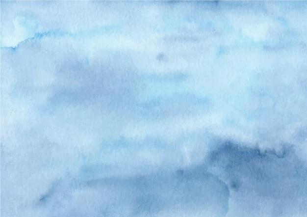 Fond de texture abstraite bleu aquarelle
