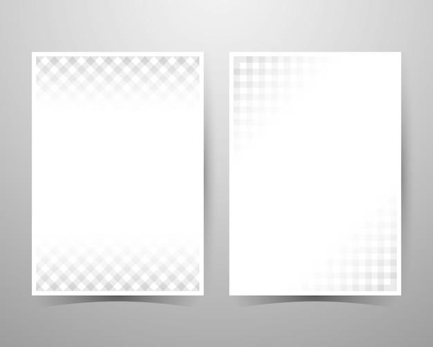 Fond de texture abstraite, motif gris, taille du modèle de présentation a4.
