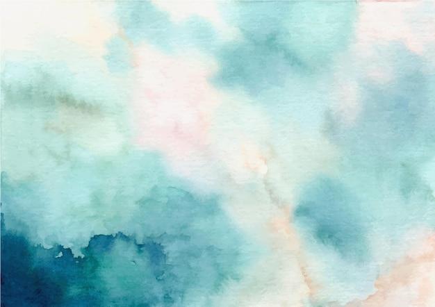 Fond de texture abstraite vert pastel à l'aquarelle