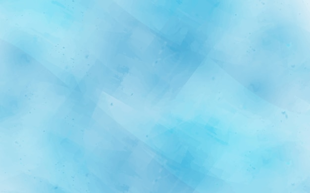 Fond de texture aquarelle abstraite dans les couleurs bleues