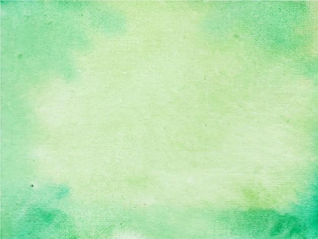 Fond de texture aquarelle abstraite verte et lumineuse,