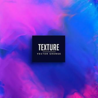 Fond de texture aquarelle bleue et rose