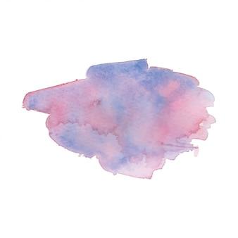 Fond de texture aquarelle coloré
