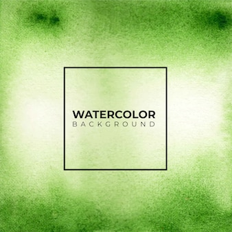 Fond de texture aquarelle couleur verte abstraite,