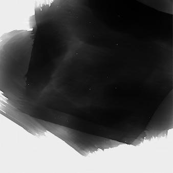 Fond de texture aquarelle noire peinte à la main
