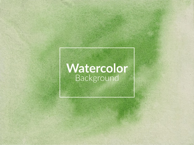 Fond de texture aquarelle vert clair