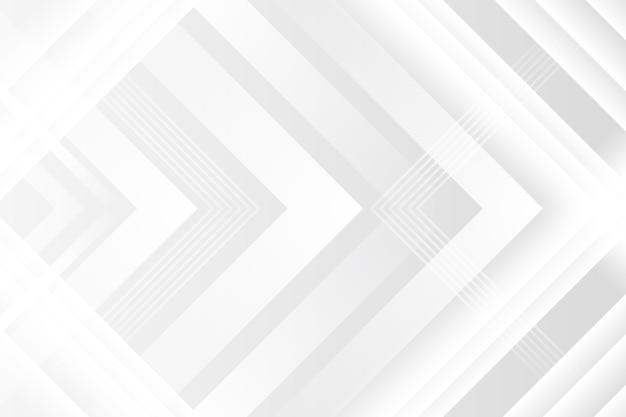 Fond de texture blanc polygonal avec des flèches