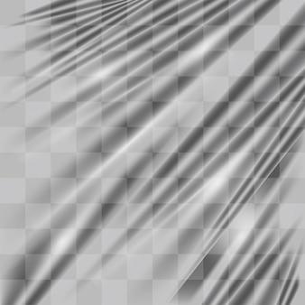 Fond de texture de chaîne en plastique transparent réel