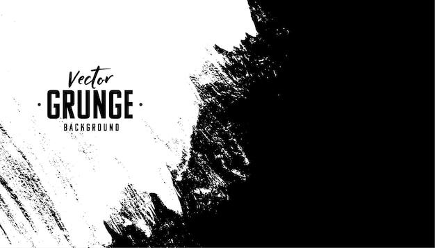 Fond de texture en détresse grunge abstraite noir et blanc