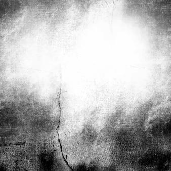 Fond texturé en détresse grunge noir et blanc