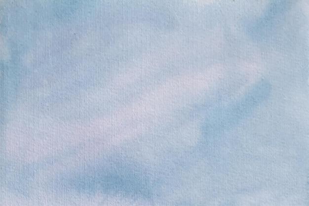 Fond de texture douce aquarelle bleu clair