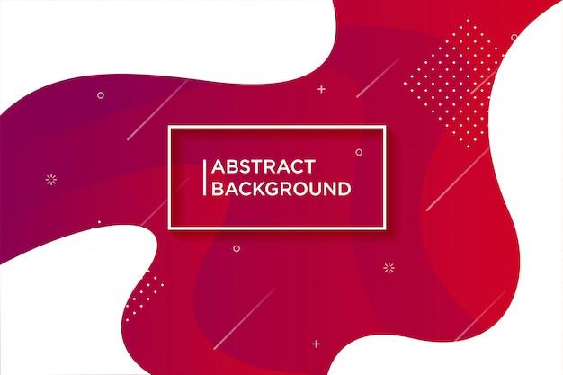 Fond texturé dynamique dans un style 3d avec la couleur rouge.