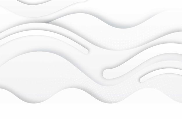 Fond de texture élégant blanc avec des vagues