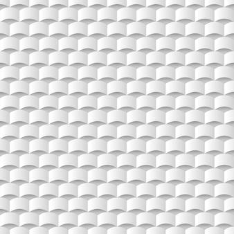 Fond de texture géométrique 3d blanc
