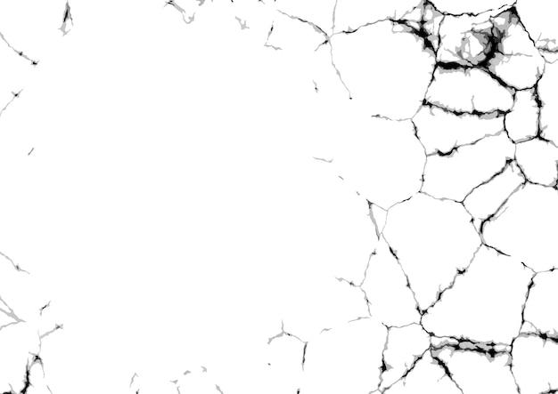 Fond de texture grunge fissurée détaillée