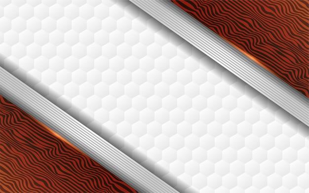 Fond de texture luxueuse de bois et blanc