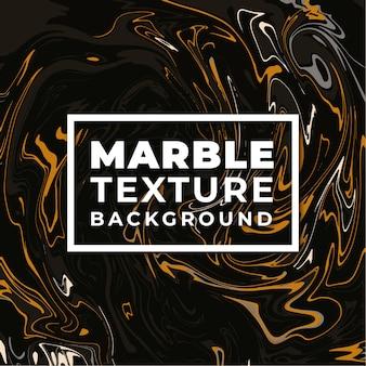 Fond de texture marbre élégant noir et or