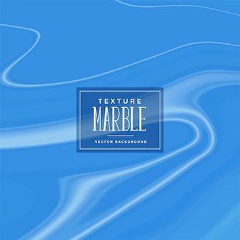 Fond de texture de marbre liquide bleu élégant