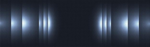 Fond de texture matière bleu foncé en fibre de carbone