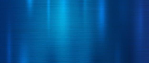 Fond de texture en métal bleu