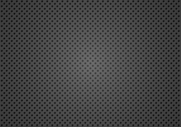Fond de texture métallique en pointillé