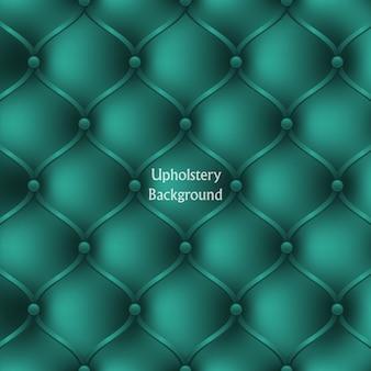 Fond texturé de meubles d'ameublement en cuir turquoise