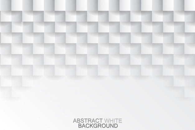Fond de texture en mosaïque blanc
