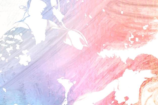 Fond texturé de peinture colorée abstraite de vecteur