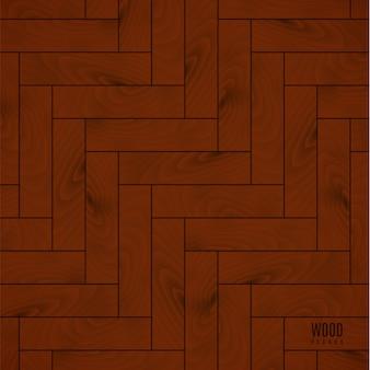 Fond de texture de plancher en bois brun pour votre conception