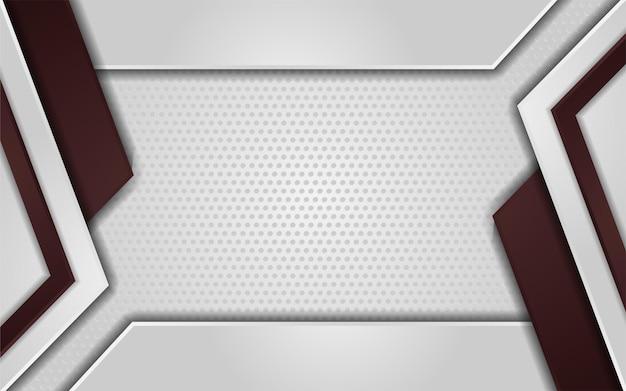 Fond de texture de point blanc abstrait avec brun dégradé
