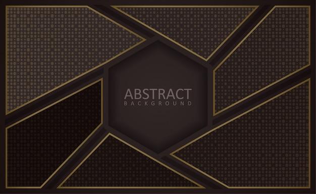 Fond texturé polygonale moderne