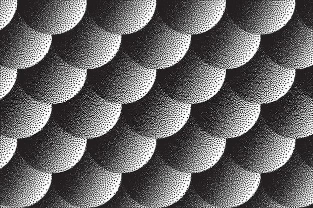 Fond de texture rétro dotwork