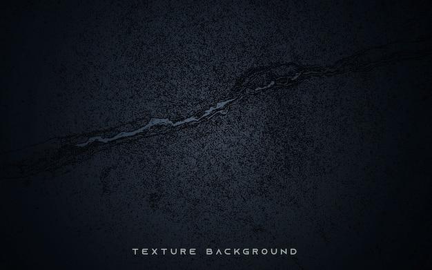 Fond de texture de sol noir fissuré
