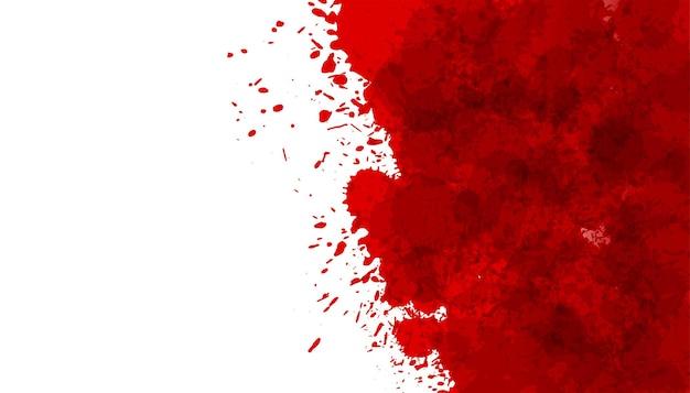 Fond de texture tache éclaboussures de sang rouge