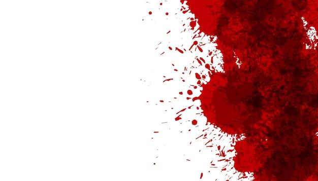 Fond de texture de tache de goutte de sang