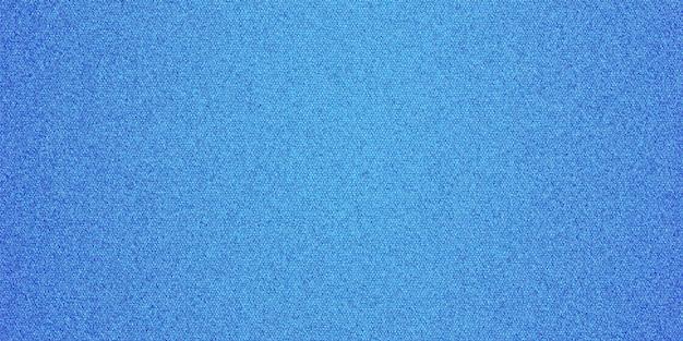 Fond texturé en tissu denim de couleur bleue