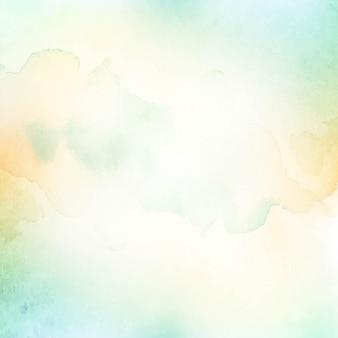 Fond de texture vert clair aquarelle abstraite