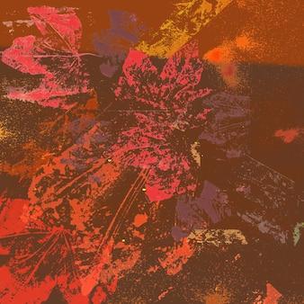 Fond de textures de feuille