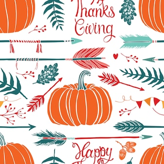 Fond de thanksgiving heureux