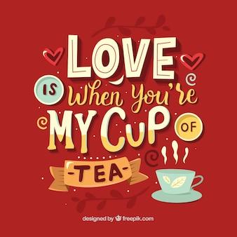 Fond de thé