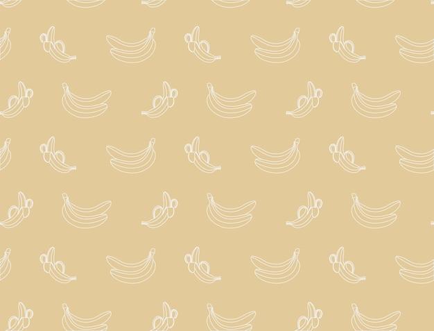 Fond sur le thème de la banane