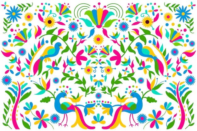 Fond avec thème mexicain
