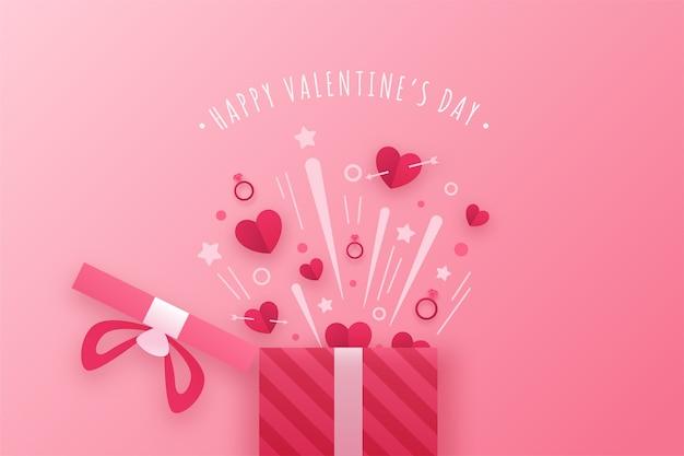 Fond avec thème saint valentin