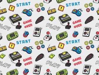 Fond transparent de jeu vidéo