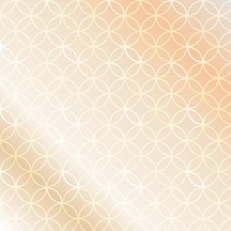 Fond transparent élégant en or rose