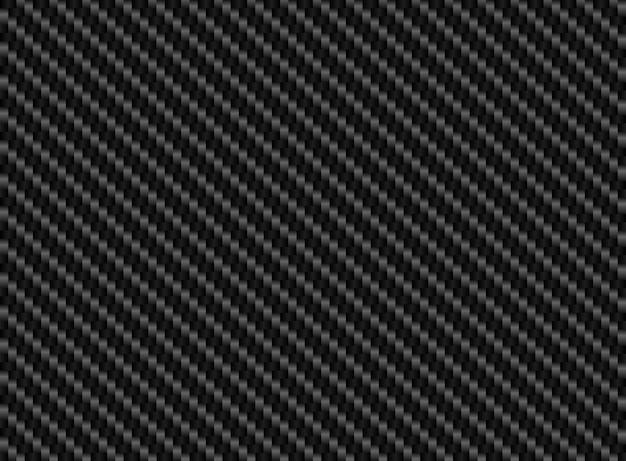 Fond transparent en fibre de carbone noir